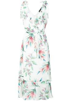 Nicole Miller printed sleeveless dress