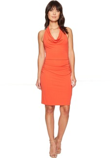 Samara Cowl Neck Halter Dress