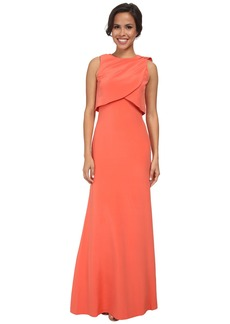 Nicole Miller Silk Pari Gown