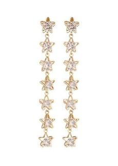 Nicole Miller Star Linear Drop Earring