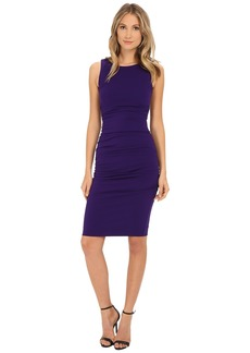 Nicole Miller Structured Jersey Lauren Sheath
