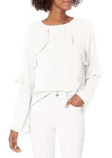 Nicole Miller Studio Women's Flare Sleeve Top