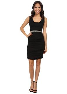 Nicole Miller Tieback Dress w/ Waistband