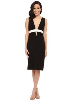 Nicole Miller Viola Color Black Cocktail Dress