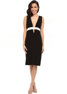 Nicole Miller Viola Color Black Cocktail Dress