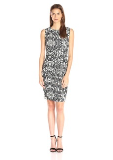 Nicole Miller Women's Bamboozle Lauren Sheath Dress