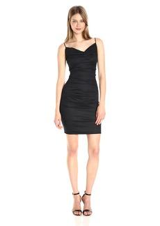 Nicole Miller Women's Carly Cotton Metal Dress