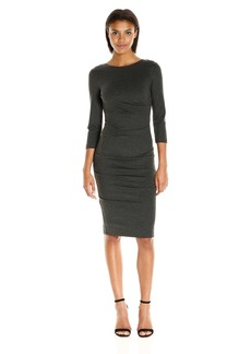 Nicole Miller Women's Christina Ponte Dress  L