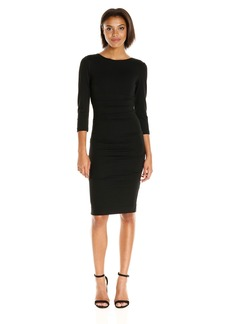 Nicole Miller Women's Christina Ponte Dress  S