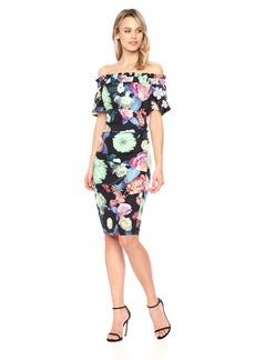 Nicole Miller Women's Daydream Natalia Off Shoulder Dress