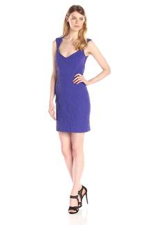 Nicole Miller Women's Embossed Knit Dress