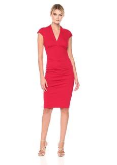 Nicole Miller Women's Hadley Ponte Dress  M