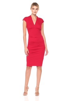Nicole Miller Women's Hadley Ponte Dress  S