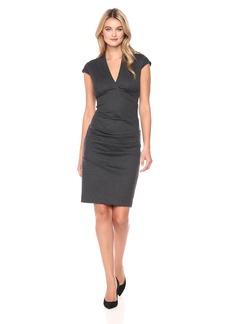 Nicole Miller Women's Hadley Ponte Dress  S
