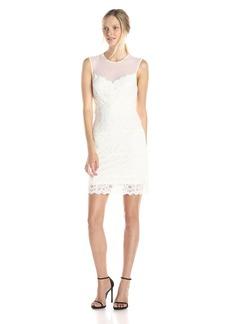 Nicole Miller Women's Harlow Stretch Lace Dress