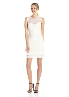 Nicole Miller Women's Harlow Stretch Lace Dress