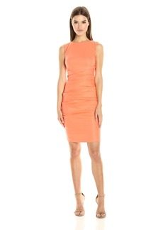 """Nicole Miller Women's """"Lauren"""" Stretch Linen Dress"""