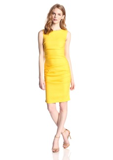 Nicole Miller Women's Lauren Stretch Linen Dress
