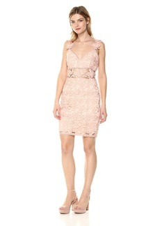 Nicole Miller Women's Ruby Lace Sweetheart Dress