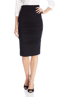 Nicole Miller Women's Sandy Metal Pencil Skirt