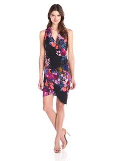 Nicole Miller Women's Stefanie Botanic Dress
