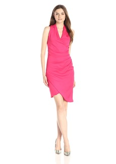 Nicole Miller Women's Stefanie New Stretch Crepe Dress