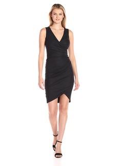 Nicole Miller Women's Stefanie Stretch Linen Dress