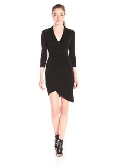 Nicole Miller Women's Stefanie Stretchy Matte Jersey Dress