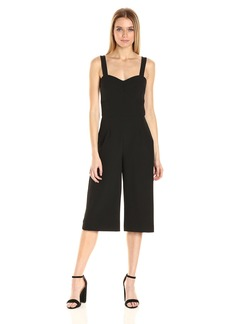Nicole Miller Women's Stretchy Tech Bra Cup Jumpsuit