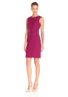 Nicole Miller Women's Stretchy Tech Cross Back Dress