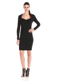 Nicole Miller Women's Structured Heavy Jersey Dress