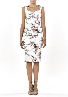 Nicole Miller Women's Tropical Santina Dress
