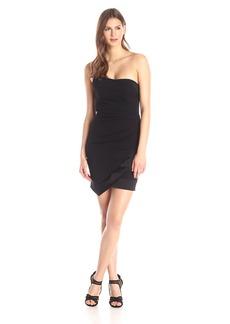Nicole Miller Women's Tux Combo Strapless Dress