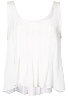 Nicole Miller pleated back vest