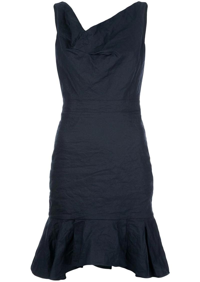 Nicole Miller pleated hem dress