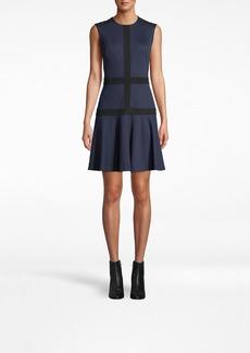 Nicole Miller Ponte Flare Dress
