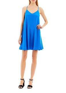 Nicole Miller Racerback Trapeze Slip Dress