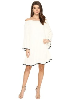 Nicole Miller Rocco Pleated Dress