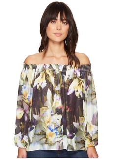 Nicole Miller Rocky Daffodil Printed Top