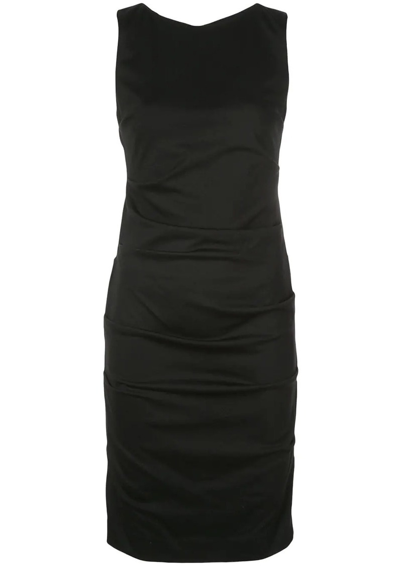 Nicole Miller ruched cocktail dress