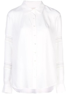 Nicole Miller ruched shirt