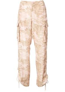 Nicole Miller safari camoflage trousers