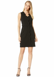 Nicole Miller Scalloped Dress