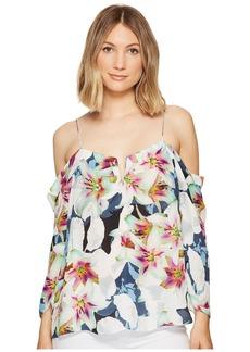 Nicole Miller Schuler Spring Floral Top