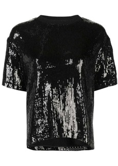 Nicole Miller sequin design top