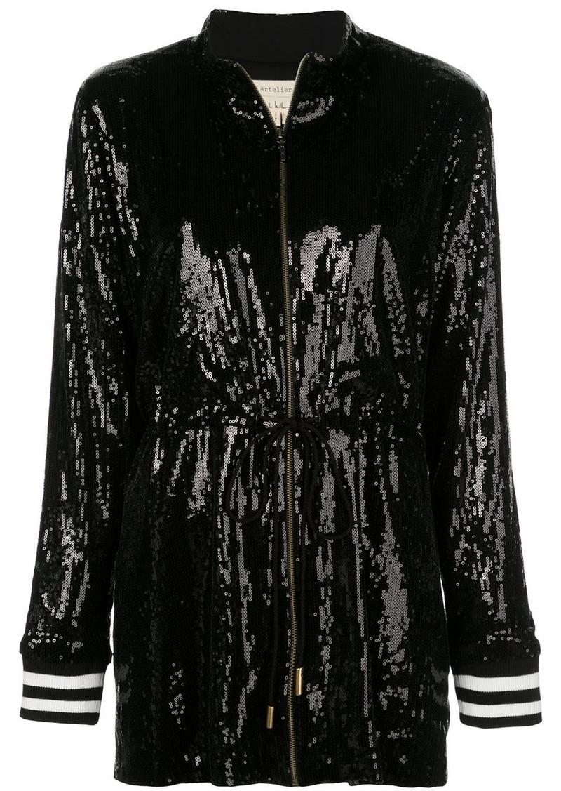 Nicole Miller sequin embellished jacket