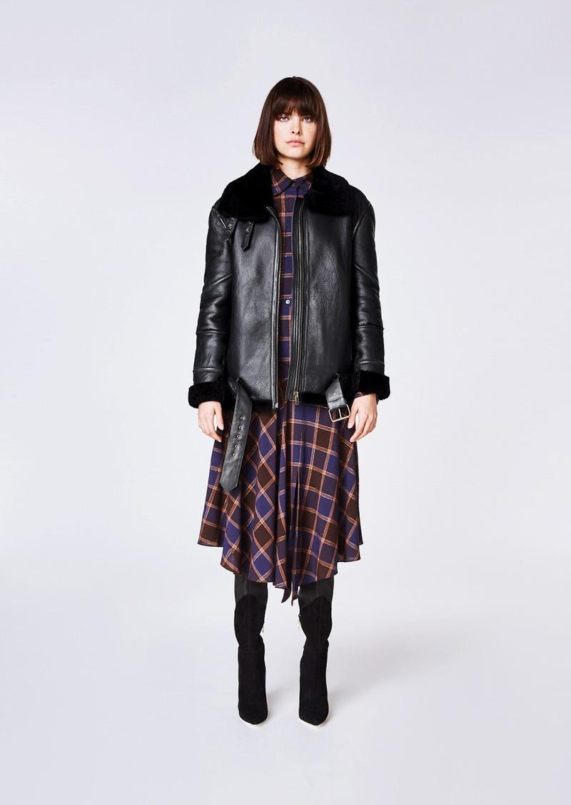 Nicole Miller Shearling Jacket