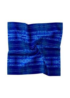 Nicole Miller Shibori Stripe Silk Blend Scarf
