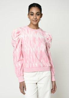 Nicole Miller Shibori Sweatshirt