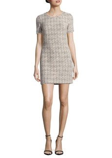 Nicole Miller Short Sleeve Sheath Dress
